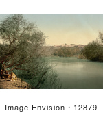 #12879 Picture Of The Place Of The Baptism On The River Jordan