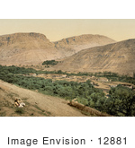 #12881 Picture Of The Ancient Village Of Suk-Wady-Barada Abila Lysaniou Abila Lysaniae Abila