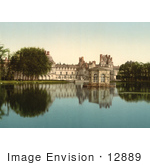#12889 Picture Of Fontainebleau Palace In France
