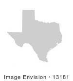 #13181 Picture Of A Map Of Texas Of The United States Of America
