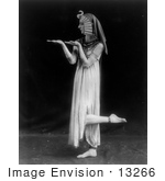 #13266 Picture of a Woman in a Cleopatra Costume by JVPD