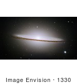 #1330 Photo Of The Sombrero Galaxy (M104 Ngc 4594) In The Virgo Constellation