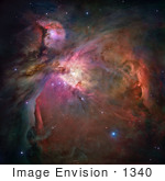 #1340 Photo Of The Orion Nebula (Messier 42 M42 Ngc 1976)