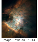 #1344 Photo Of The Orion Nebula Messier 42 M42 Ngc 1976