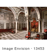 #13453 Picture Of The Tribunal Chamber At Bardo Tunis Tunisia