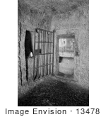 #13478 Picture Of A Prison Cell In The Prison Of The Antonia Fortress
