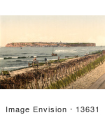 #13631 Picture Of A View On Heligoland From Dunes