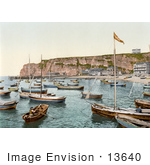 #13640 Picture Of Boats Heligoland Germany
