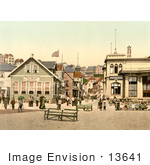 #13641 Picture Of Kaiserstrasse In Helgoland Germany
