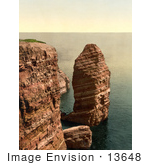 #13648 Picture Of The Monk Formation In Heligoland Germany