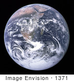 #1371 Photo Of The Full Earth 12/07/1972