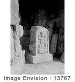 #13767 Picture Of Carved Stone With Jupiter Of Heliopolis Baalbek