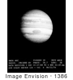 #1386 Photo Of A View Of Jupiter