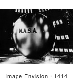 #1414 Photo Of Echo Passive Communications Satellite 08/12/1960