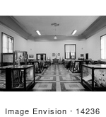 #14236 Picture Of The Second Floor Courtroom Jackson County Courthouse Jacksonville Oregon