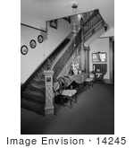 #14245 Picture Of The Staircase In The Jeremiah Nunan House Jacksonville Oregon