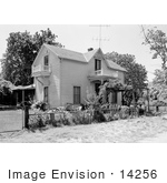 #14256 Picture Of The Kahler-Reuter House In Jacksonville Oregon
