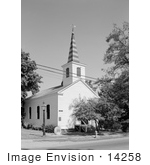 #14258 Picture Of The Historic Methodist Episcopal Church In Jacksonville Oregon
