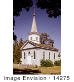 #14275 Picture of the St. Joseph's Roman Catholic Church in Jacksonville, Oregon by JVPD