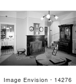 #14276 Picture Of The Family Room Of The Beekman House In Historic Jacksonville Oregon