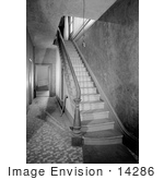#14286 Picture Of The Staircase And Hallway In The Orth House Jacksonville Oregon