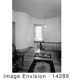 #14289 Picture Of The Stairhall In Hanley House Jacksonville Oregon
