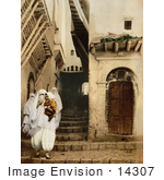 #14307 Picture Of People In Traditional Dress Algiers Algeria