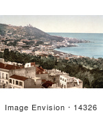 #14326 Picture Of Babel-Oued As Seen From The Casbah Citadel Algiers Algeria