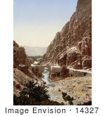 #14327 Picture Of A Bridge Over A Stream Elcantara Algeria