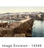 #14349 Picture Of Harbor In Algiers Algeria