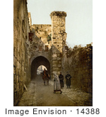 #14388 Picture Of The Tower Of Antonia Jerusalem