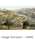 #14400 Picture Of Siloam And The Tyrophean Valley Jerusalem