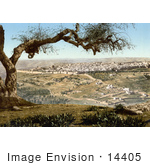 #14405 Picture Of Jerusalem From Mount Scopus