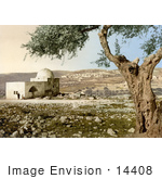 #14408 Picture Of The Tomb Of Rachel In Judea Jerusalem Israel