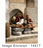 #14417 Picture Of Bread Vendors In Jerusalem