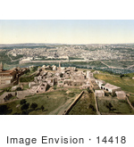 #14418 Picture Of A Cityscape View Of Jerusalem Israel