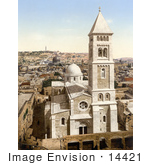 #14421 Picture Of The Church Of St Saviour Jerusalem