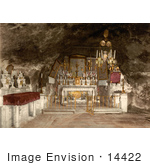 #14422 Picture Of The Grotto Of The Agony Jerusalem