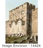 #14424 Picture Of The Golden Gate Gate Of Mercy Gate Of Eternal Life And Beautiful Gate Jerusalem