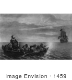 #1459 Henry Hudson Abandoned by His Crew by JVPD