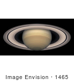#1465 Photo Of The Rings Of Saturn