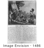 #1486 The Death Of The Marquis De Montcalm
