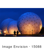 #15088 Picture Of Radomes At Misawa Air Base Japan