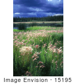 #15195 Picture Of A Storm Over Yukon Flats National Wildlife Refuge