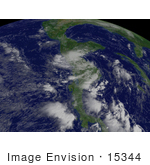 #15344 Picture Of Tropical Depression Felix
