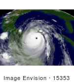 #15353 Picture Of Hurricane Dean