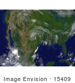 #15409 Picture Of Tropical Depression Erin