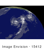 #15412 Picture Of Tropical Storm Cosme Near Hawaii