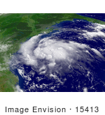 #15413 Picture Of Tropical Storm Erin