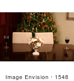 #1548 Table Setting at Christmas Time by Jamie Voetsch